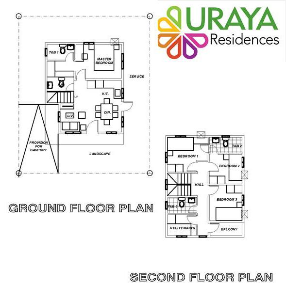 Uraya Residences THERESE House Model, Catalunan Grande, Davao City