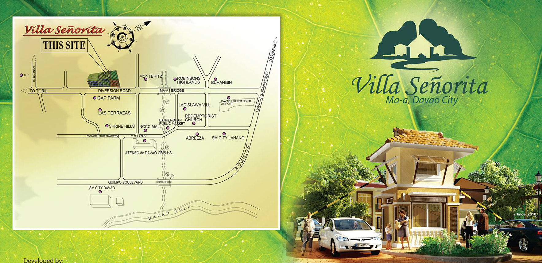 Villa Senorita vicinity map