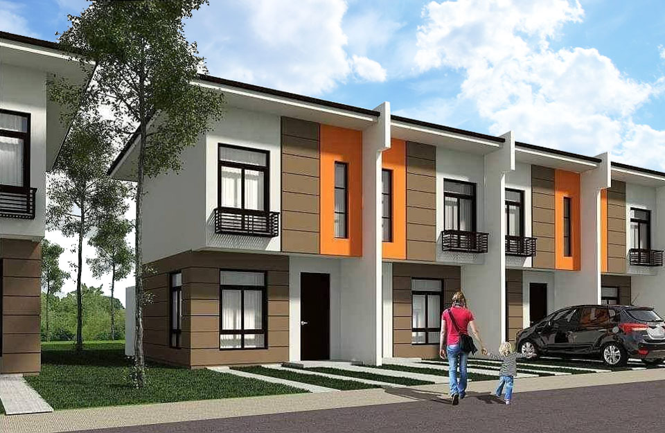 DR168 : Navona Catalunan Grande Affordable 2 Storey Townhouse, Davao City