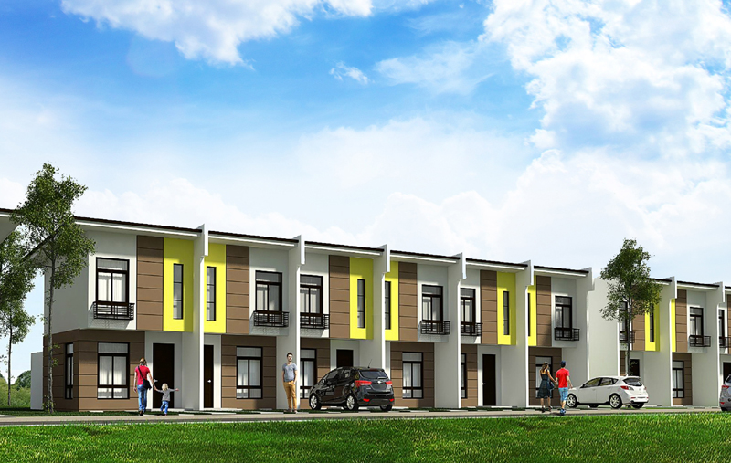 GR131 : Evissa Davao Affordable Townhouses, Matina Pangi, Davao City