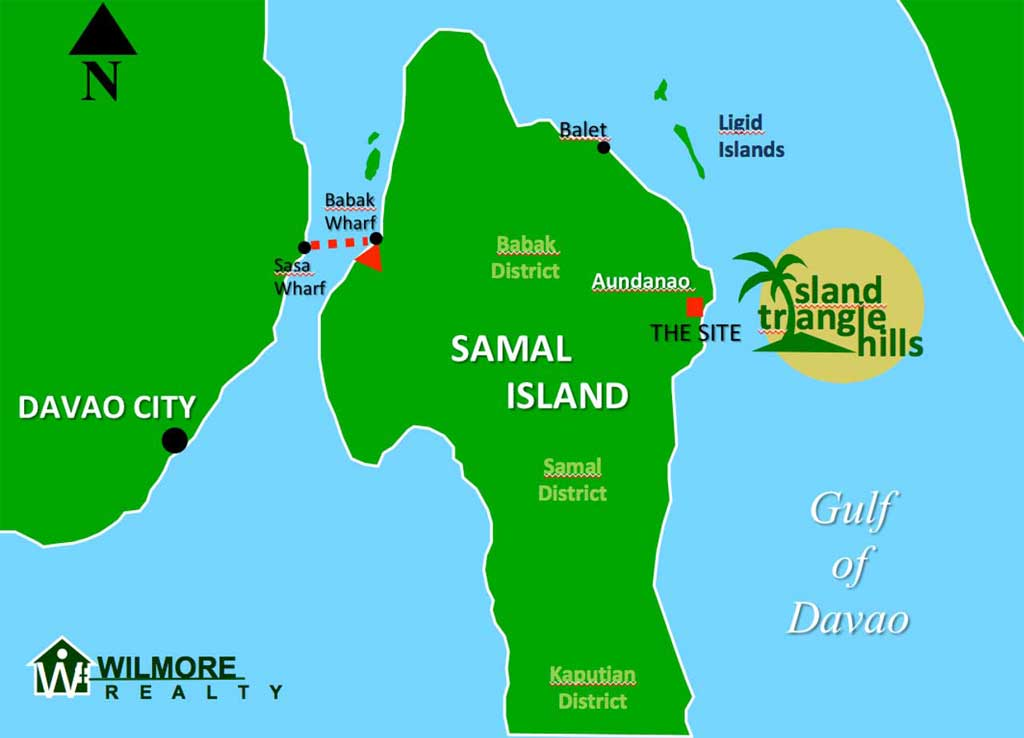 Island Triangle Hills Affordable Overlooking Lots, Samal
