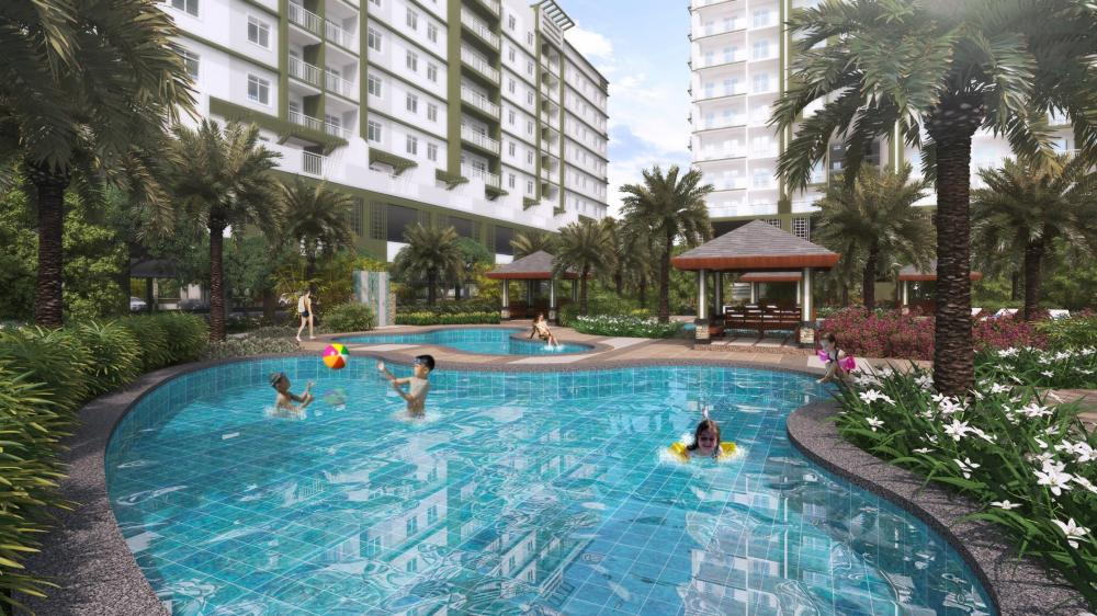 Verdon parc belvedere building ecoland davao city for sale for Apartelle in davao city with swimming pool