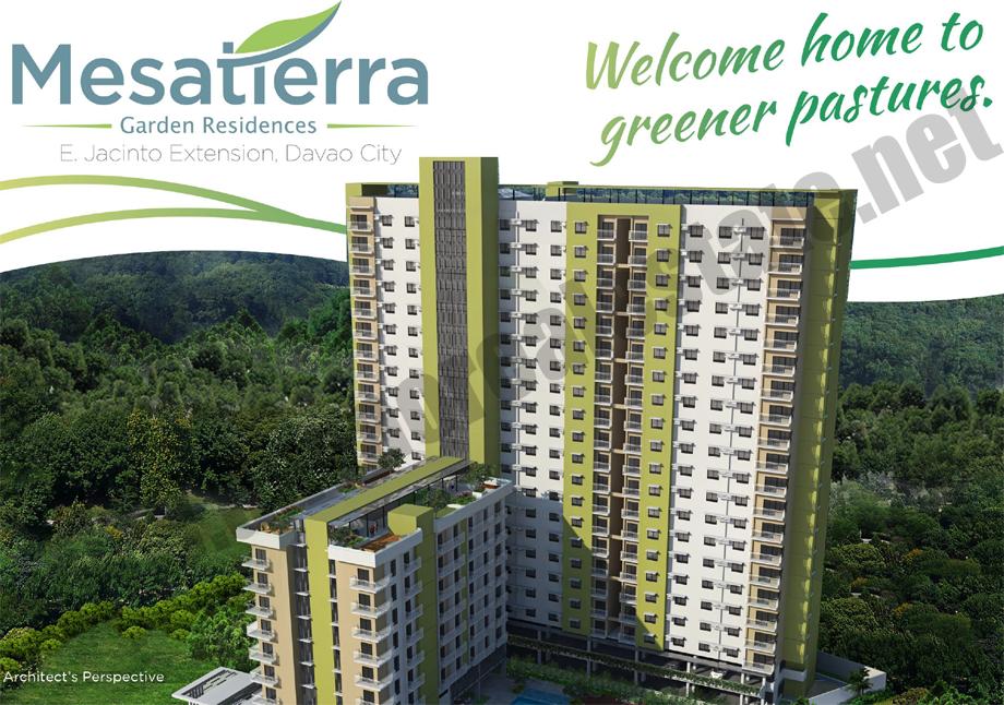 GR126 : Mesatierra Garden Residences, Jacinto Street, Davao City