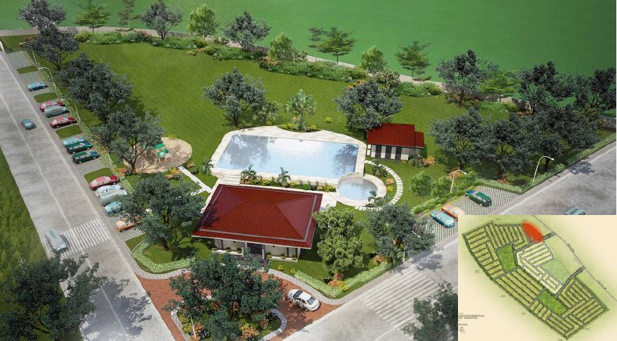 Narra Park Residences Cabana & Swimming Pool