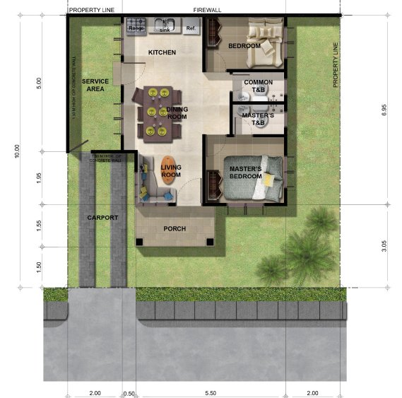 Narra Park Residences Bungalow House Model