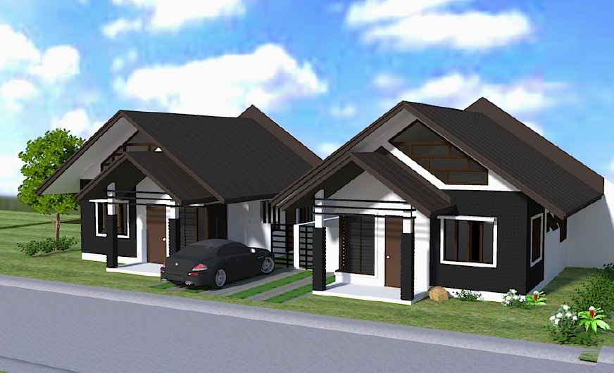 Narra Park Residences Bungalow With Loft House Model