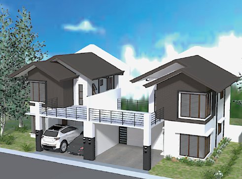 Narra Park Residences TWO STOREY with BALCONY House Model