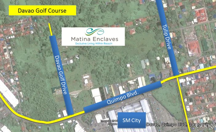 The Enclaves Residences Location Map