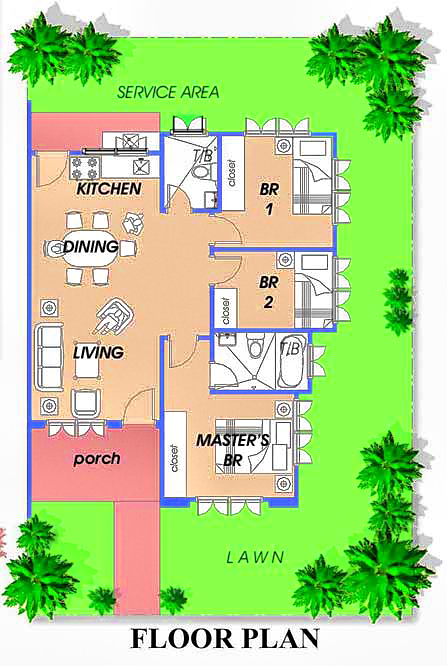 bungalow house designs and floor plans in philippines bungalow house ...